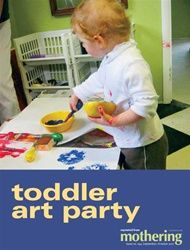 Toddler Art Party