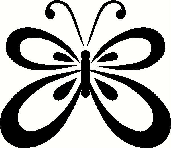 Butterfly Outline Vinyl Decal Animals Vinyl Decals Bella Room - Butterfly vinyl decals