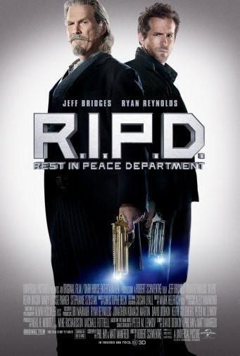 ripd r.i.p.d. poster Metal Sign Wall Art 8in x 12in