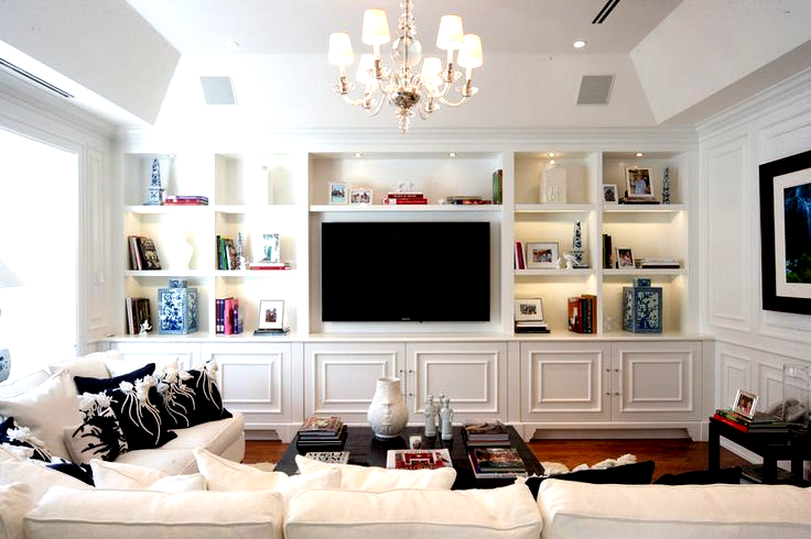 Arresting Built In Tv Wall Units Image Gallery In Family Room Traditional Design Ideas W Built In Tv Cabinet Living Room Entertainment Center Small Family Room