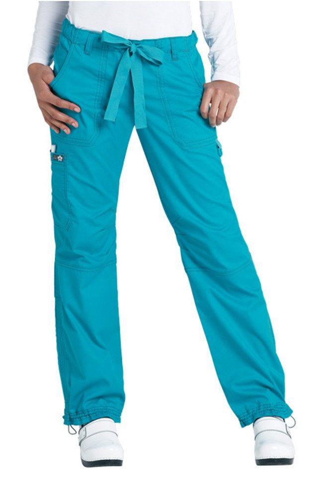 05ea888bf96 Koi Lindsey cargo scrub pants. | NURSING | Scrub pants, Drawstring ...
