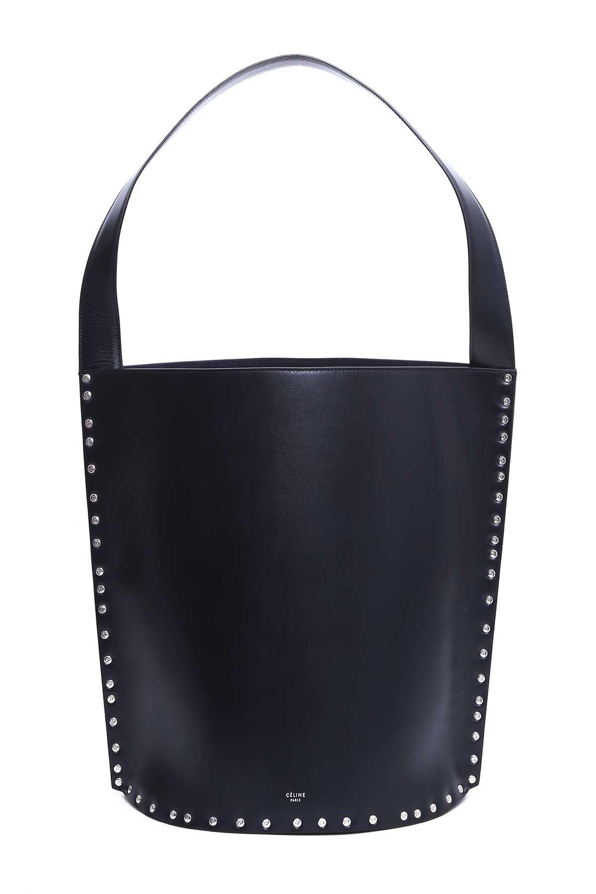 CELINE LARGE BUCKET SHOULDER BAG.  celine  bags  leather  hand bags  bucket    18be3dbf3fe52
