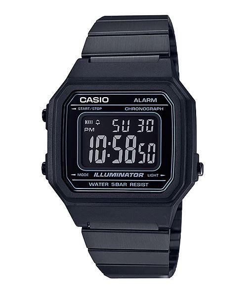 f8acfa38d53 Na Relógios de Fábrica você encontra o Relógio Casio Unissex Vintage  B650WB-1BDF com o melhor preço. Acerte na escolha. Compre original de  fábrica.