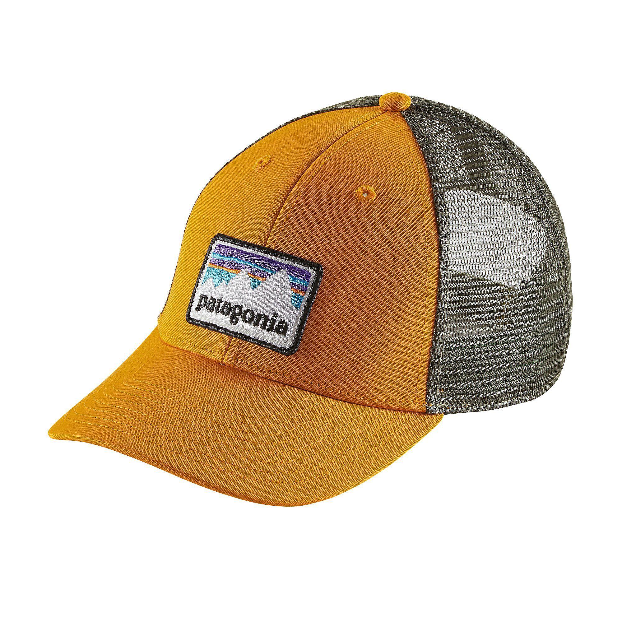 Patagonia Shop Sticker Patch LoPro Trucker Hat in 2018  aec88fcc825