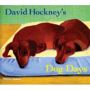 David Hockney Dachshund Painting David Hockney S Dog Days