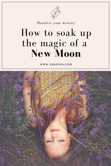 A new moon ritual to help set intentions and goals, and make all of your new moon wishes come true! #newmoonritual
