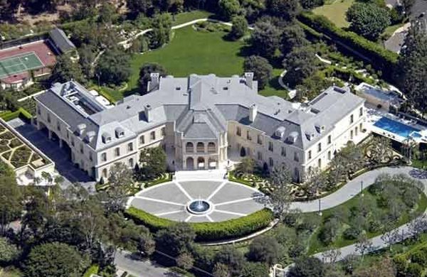 Spelling manor los angeles usa 150 million most for Most expensive house in la