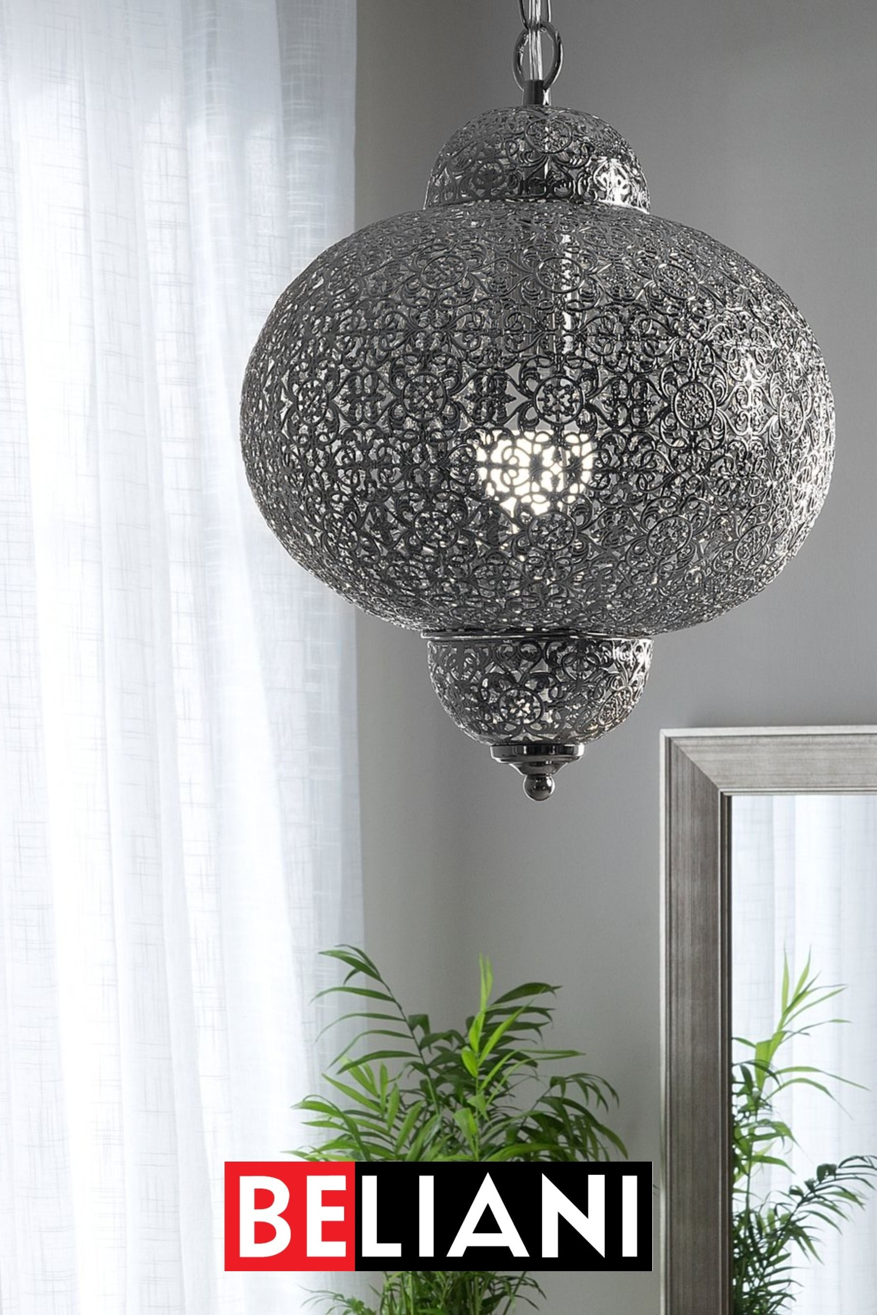 Odkryj Najnowsze Lampy W Stylu Glamour Od Beliani Odmień