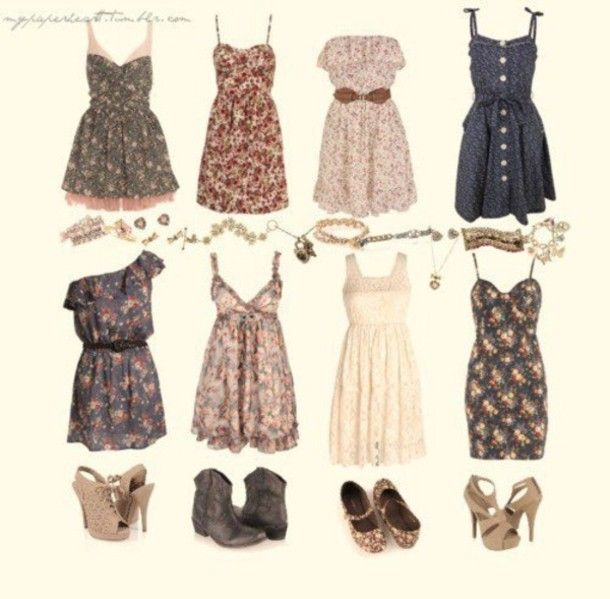 Cute Summer vintage outfits | tags 2013 cute trendy summer dresses 2013 treny summer dresses amazing ...