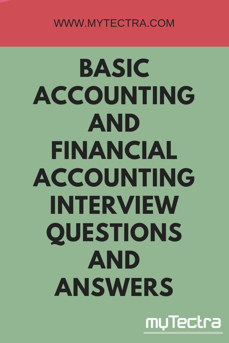 financial accounting questions and answers