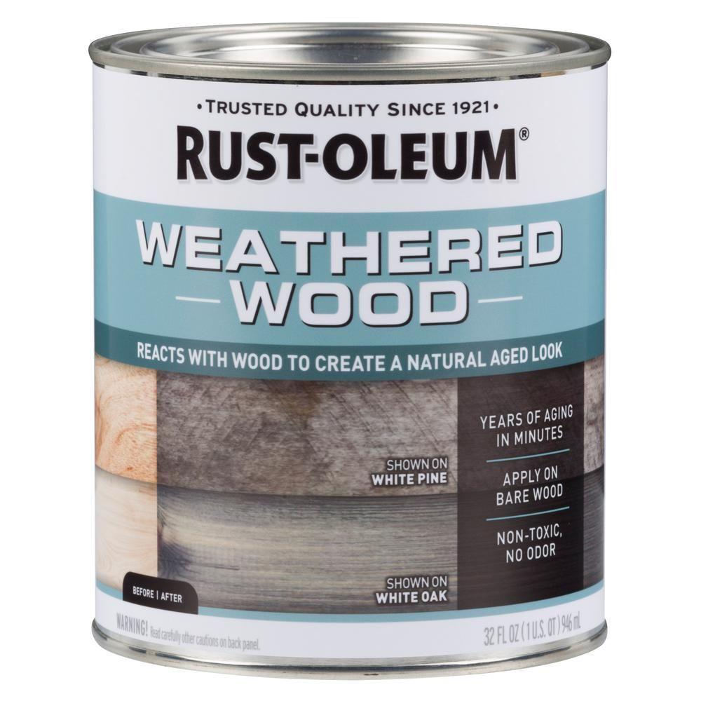 Wood Varathane Accelerator Weathered