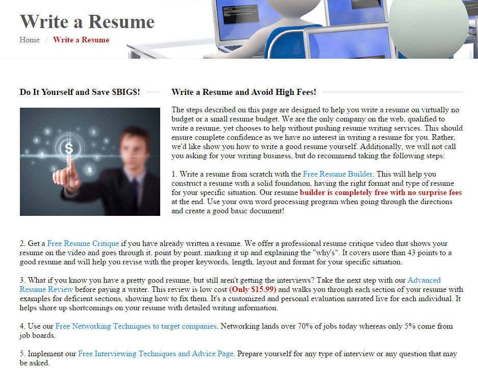 Resume Writer Jobs New Page From My Website Resumereviewwritingservices Shows
