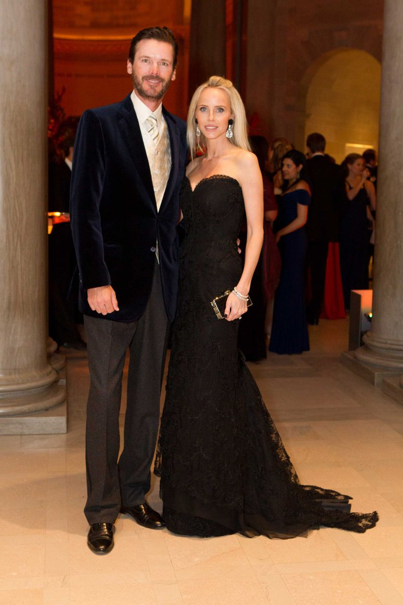 Billy And Vanessa Getty Attend Trevor Trainas Mid Winter Gala In