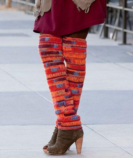 Thigh High Leg Warmers | So much crochet, so little time | Pinterest ...