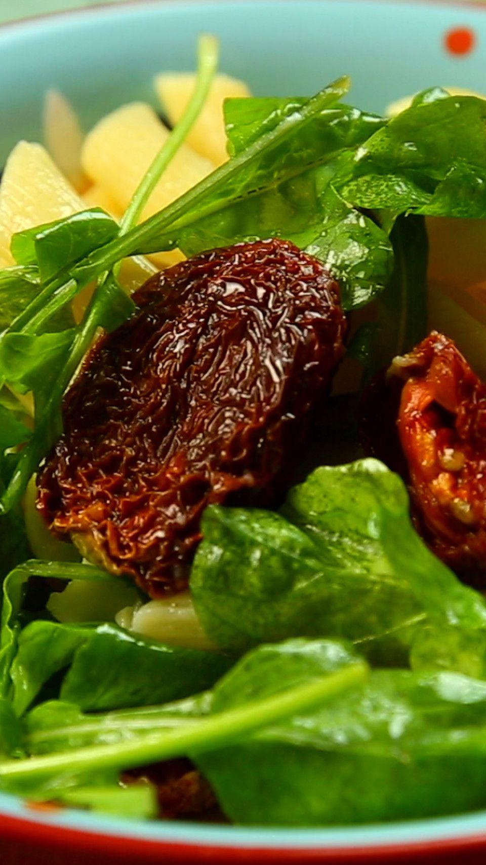 Pasta Con Rucula Y Tomates Secos Receta Recetas De Pastas