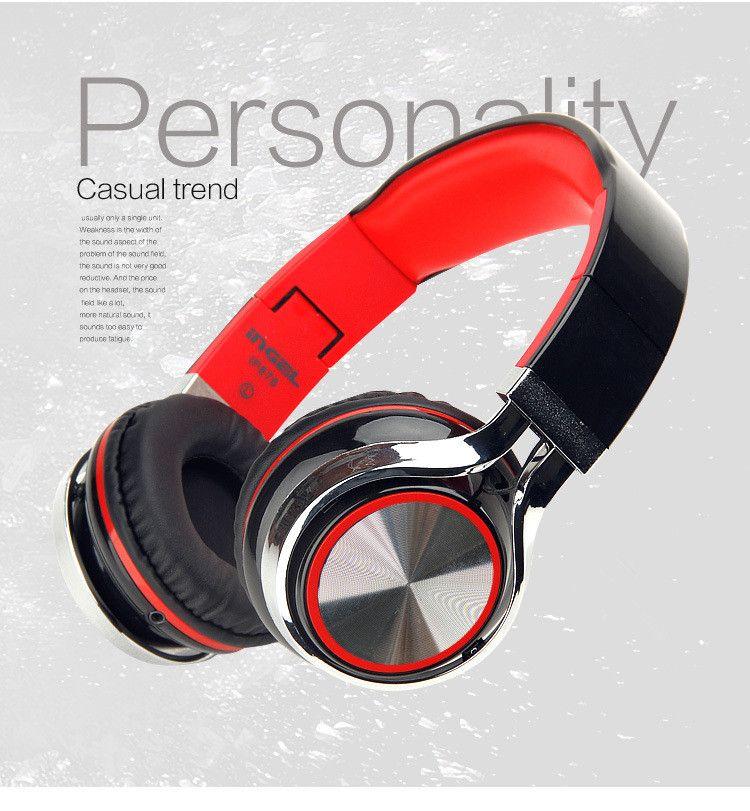 Foldable Headphone On-Ear Headset Earphones for iPhone,iPad