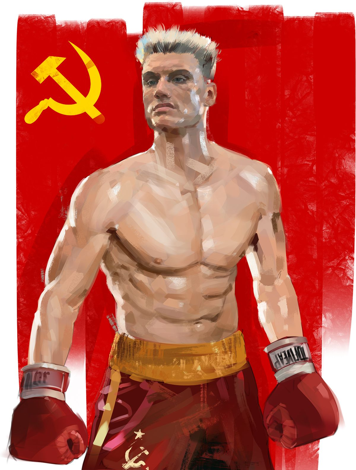 ivan drago / Rocky IV | Lenin/Stalin/red army/URSS ...