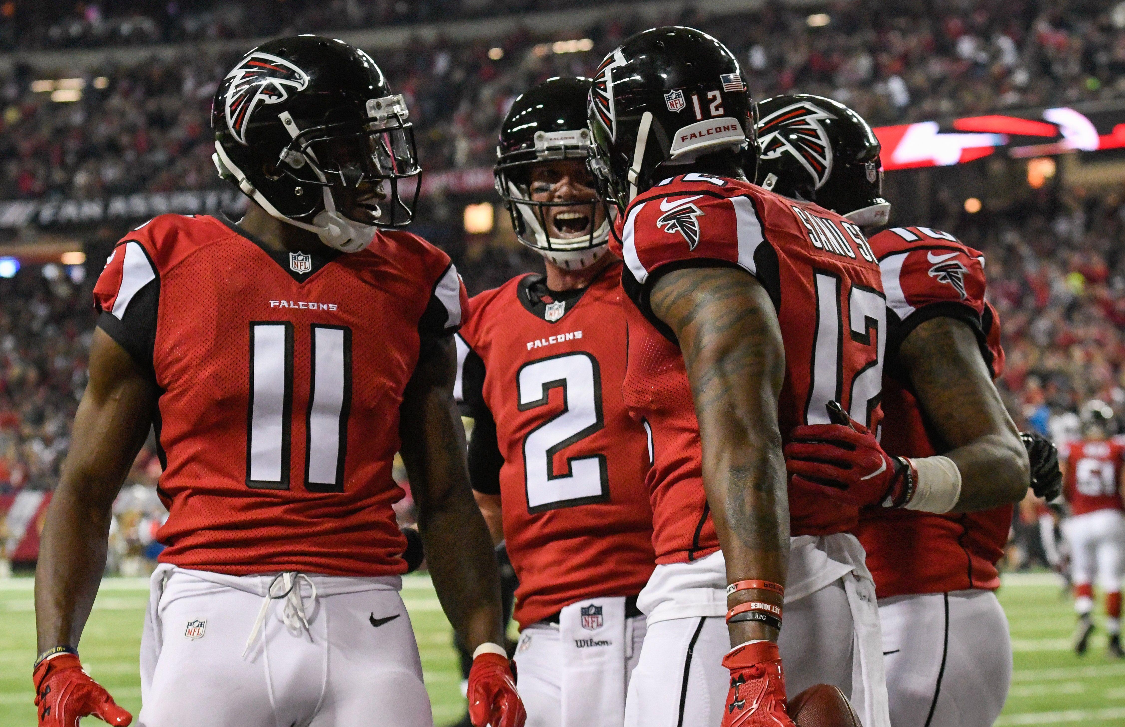 Falcons The Guru Matt Julio Sanu Hardy Atlanta Falcons Football Atlanta Falcons