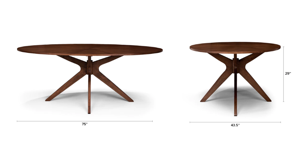 Conan Oval Dining Table With Images