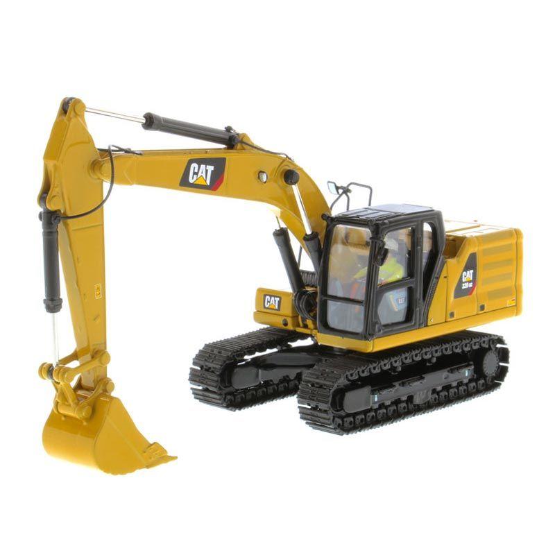 1 50 High Detail Caterpillar 320 Next Generation Design Hydraulic Excavator Hydraulic Excavator Excavator Caterpillar