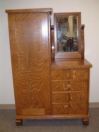 Salado Creek Antiques Gentlemans Wardrobe Dresser