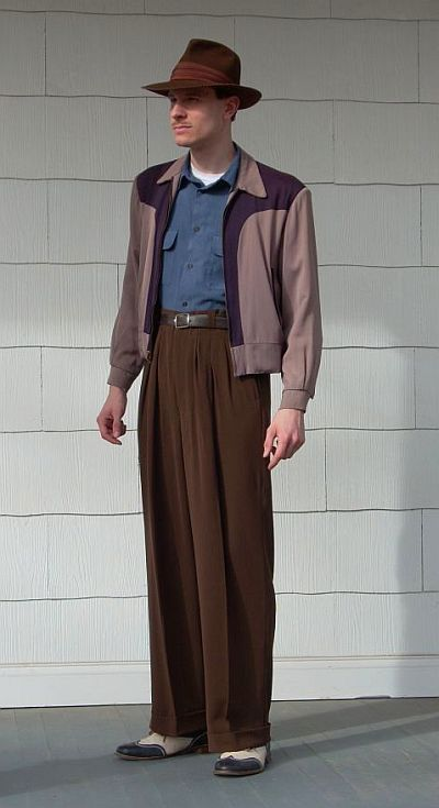 men s casual fashion 1950 s - he makes a statement  f3e224126