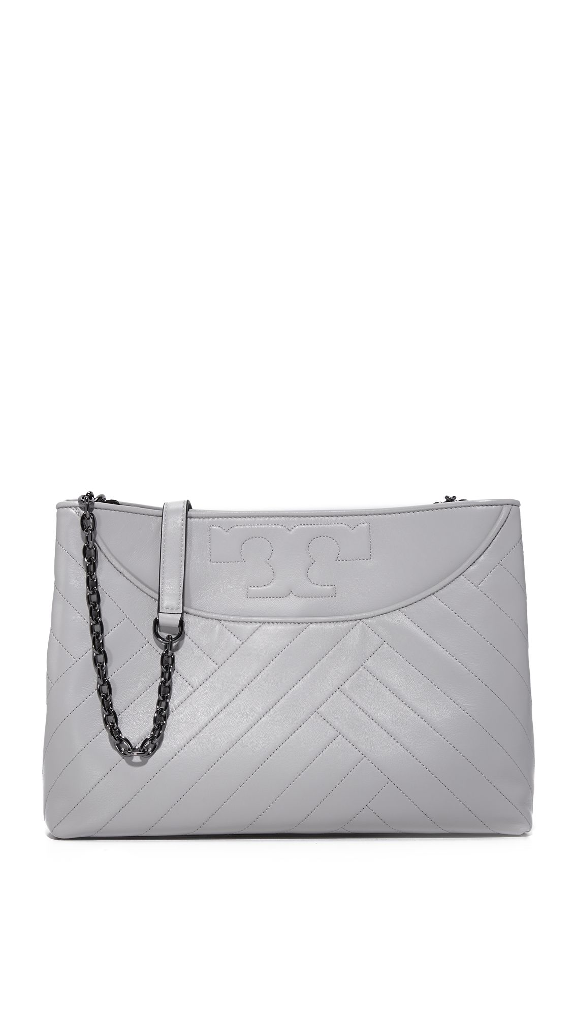 cebd147bd7de The slouchy Tory Burch Alexa tote has a soft