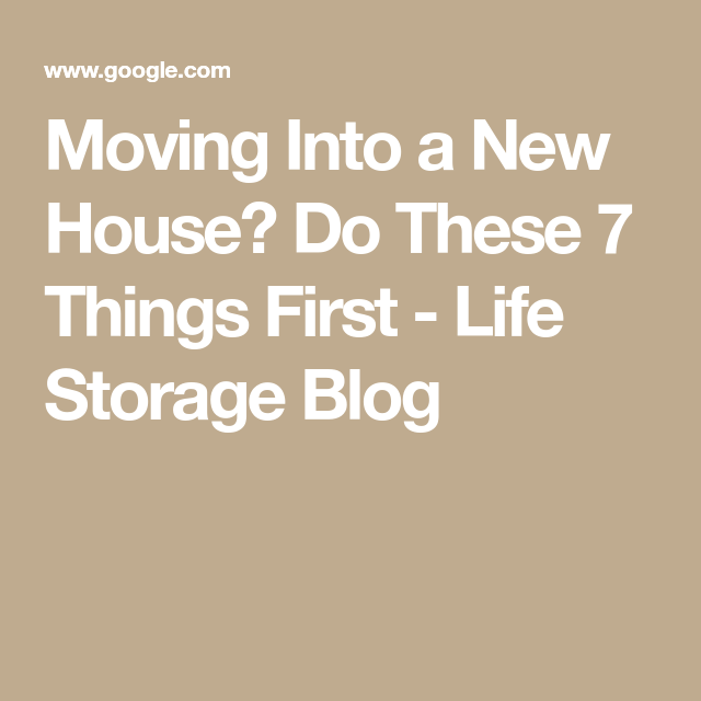 moving into a new house Preparing for a house move is stressful whether you are buying or renting, moving in the same town or city, or moving across country, moving into a new house is one of the most stressful things most people do during a lifetime.
