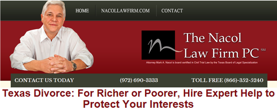 Texas Divorce For Richer or Poorer, Hire Expert Help to