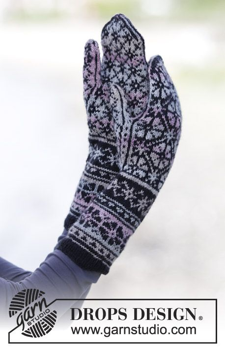 Gratis stickmönster | Handschuhe | Pinterest | Catálogo, Guantes y ...
