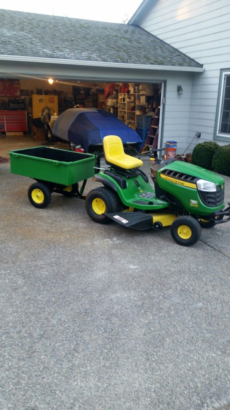 Done deal. Lawn equipment, Equipment trailers, Lawn mower