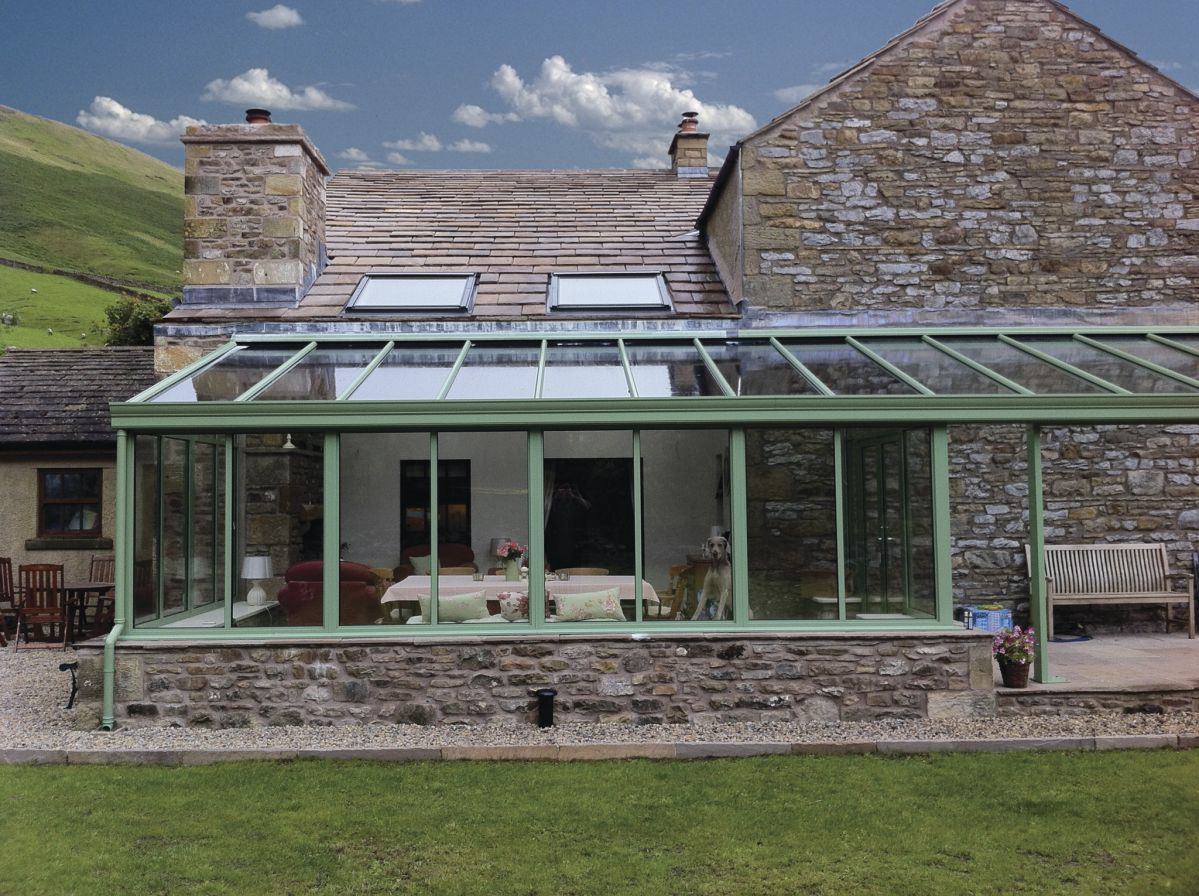 Conservatories Bradford, Leeds Lean to conservatory