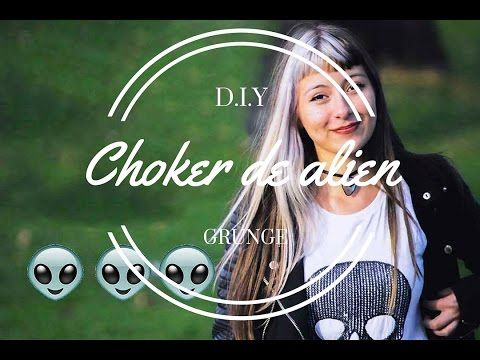 DIY- Cómo hacer 8 tipos de chokers - Collares pegados PARTE I / Nerea Iglesias - YouTube