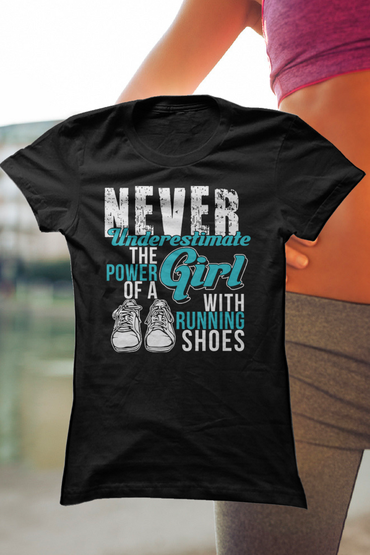I know a few runners who would love this tee! Fun gift for runners ...