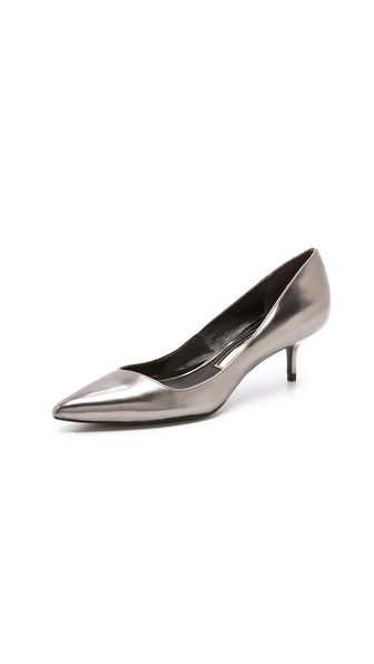 Boutique 9 Sophina Metallic Pumps on Kitten Heel | $91.00