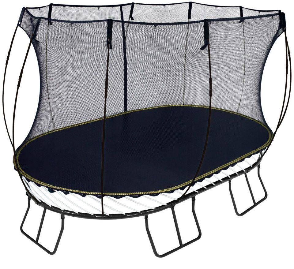 8 x 13 large oval trampoline backyard trampoline