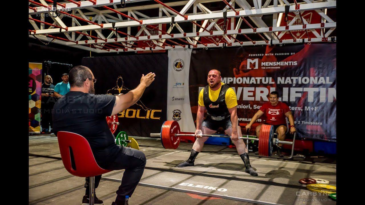 Campionatul national de powerlifting 2019 Men 120 kg 105