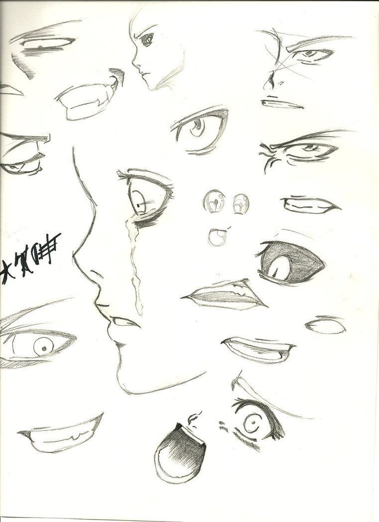 Learn To Draw Eyes Anime Mouth Drawing Eye Drawing Anime Drawings