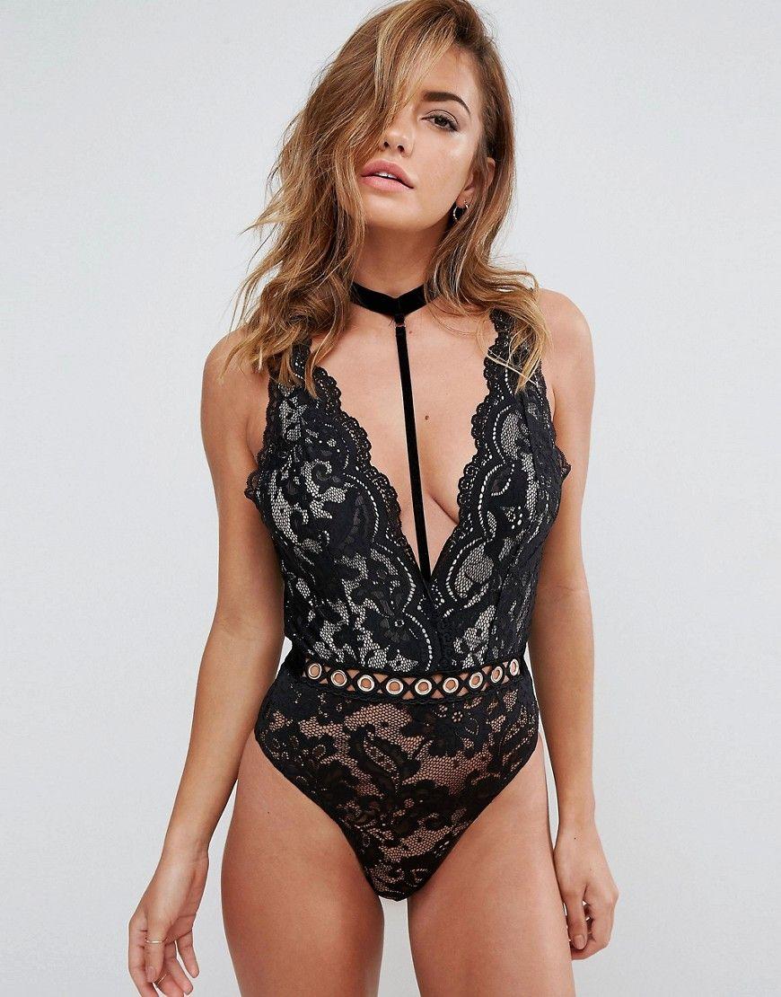3824e4561d5c7 Ann Summers Oregan Halter Neck Body | Products | ASOS, Moda online, Body