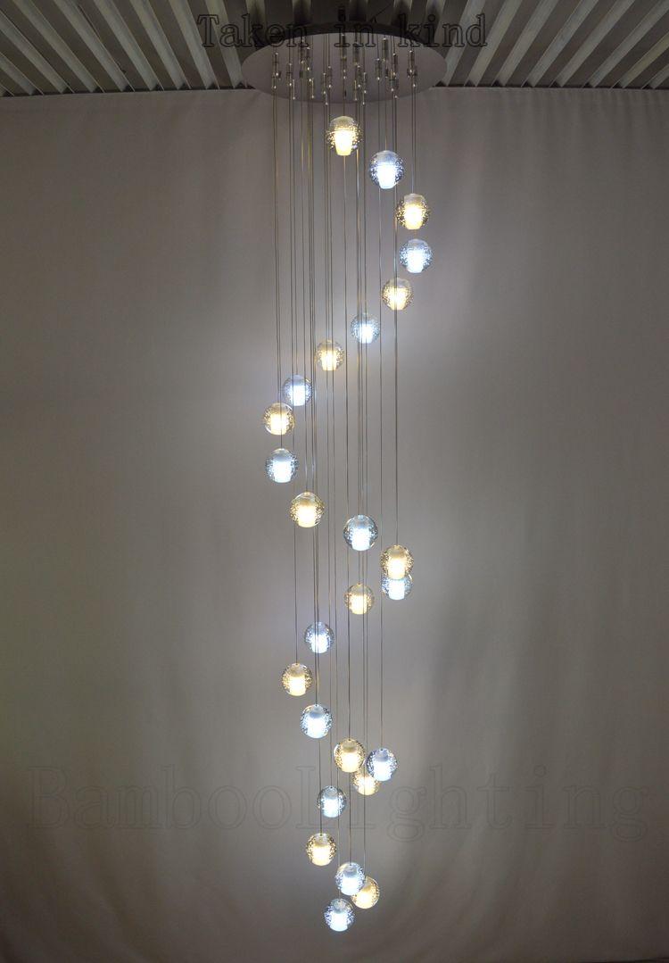 14 26 Bubble glass ball Led Pendant