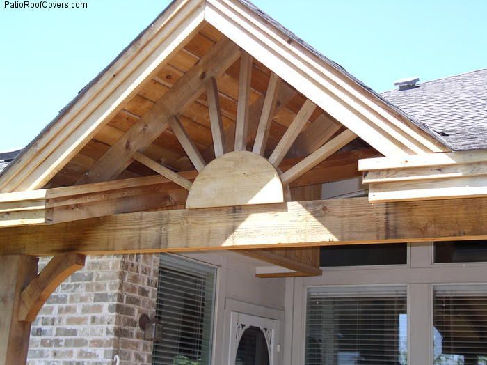 Gable deck roof designs gable roof pinterest roof for Porch roof plans