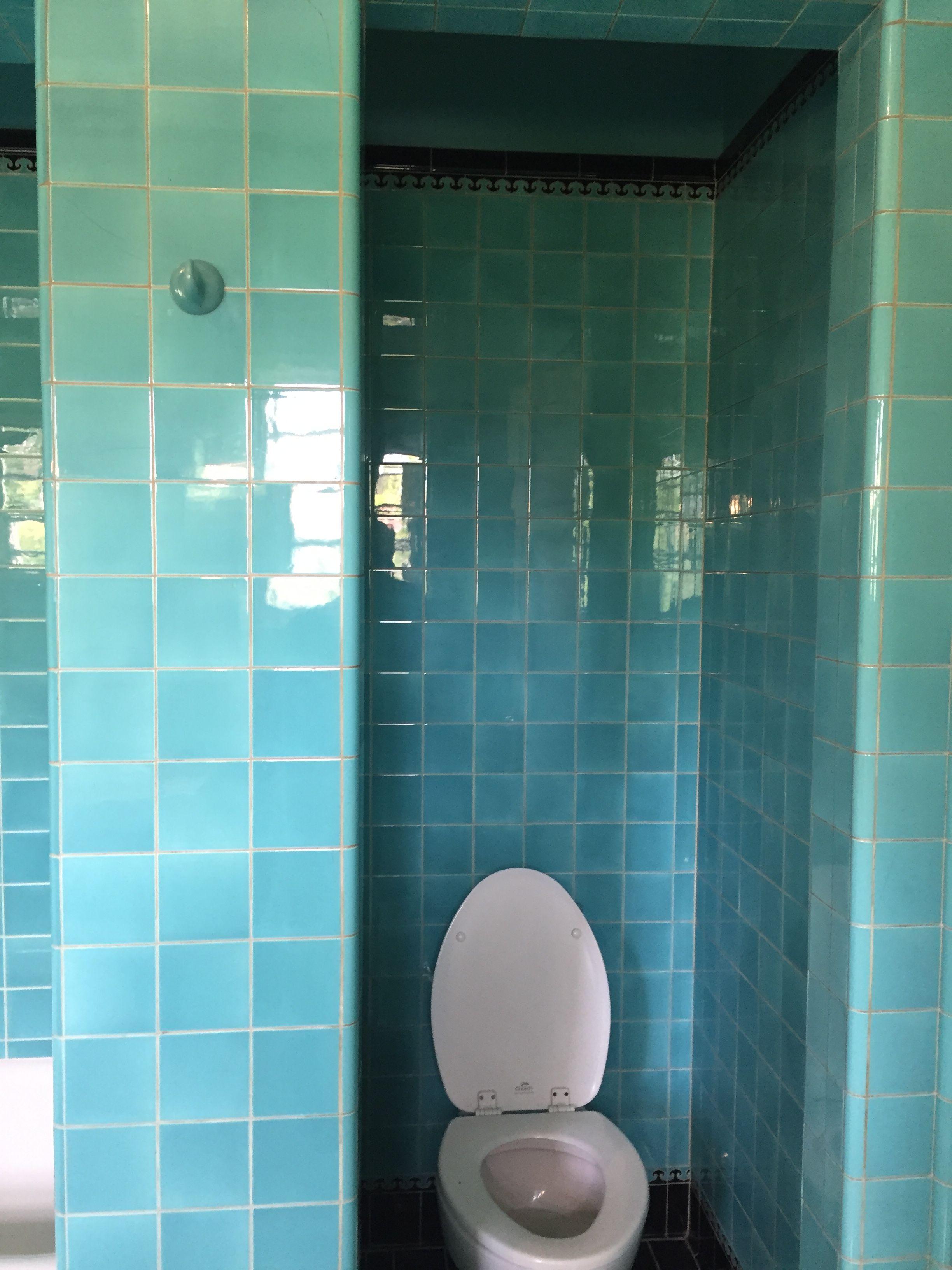 Vintage bathroom interior pin by brooke on us tiled bathrooms  pinterest  vintage