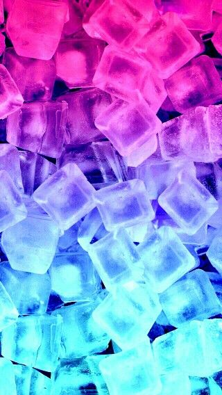Wallpaper Phone Falling Snowflakes Pink To Blue Ombr 233 Ice Wallpaper Wallpaper Pinterest