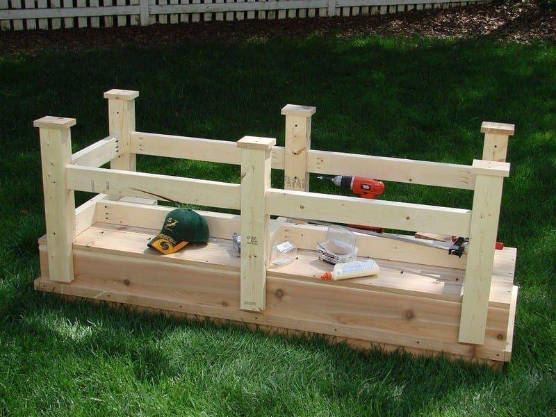 DIY Waist High Planter Box in 2020 | Planter boxes, Diy ...