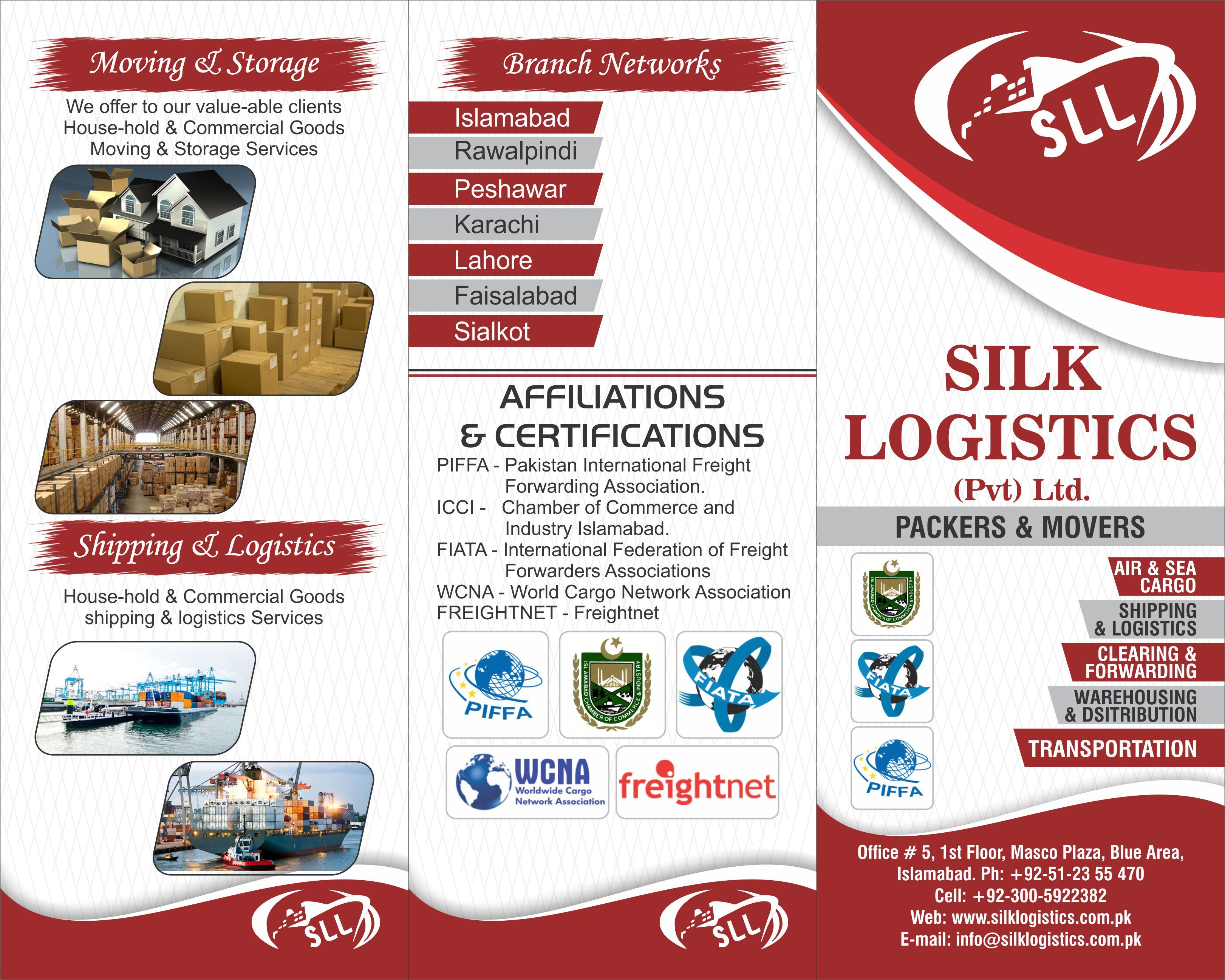 Silk Packers And Movers In Karachi Logistics Shipping Islamabad
