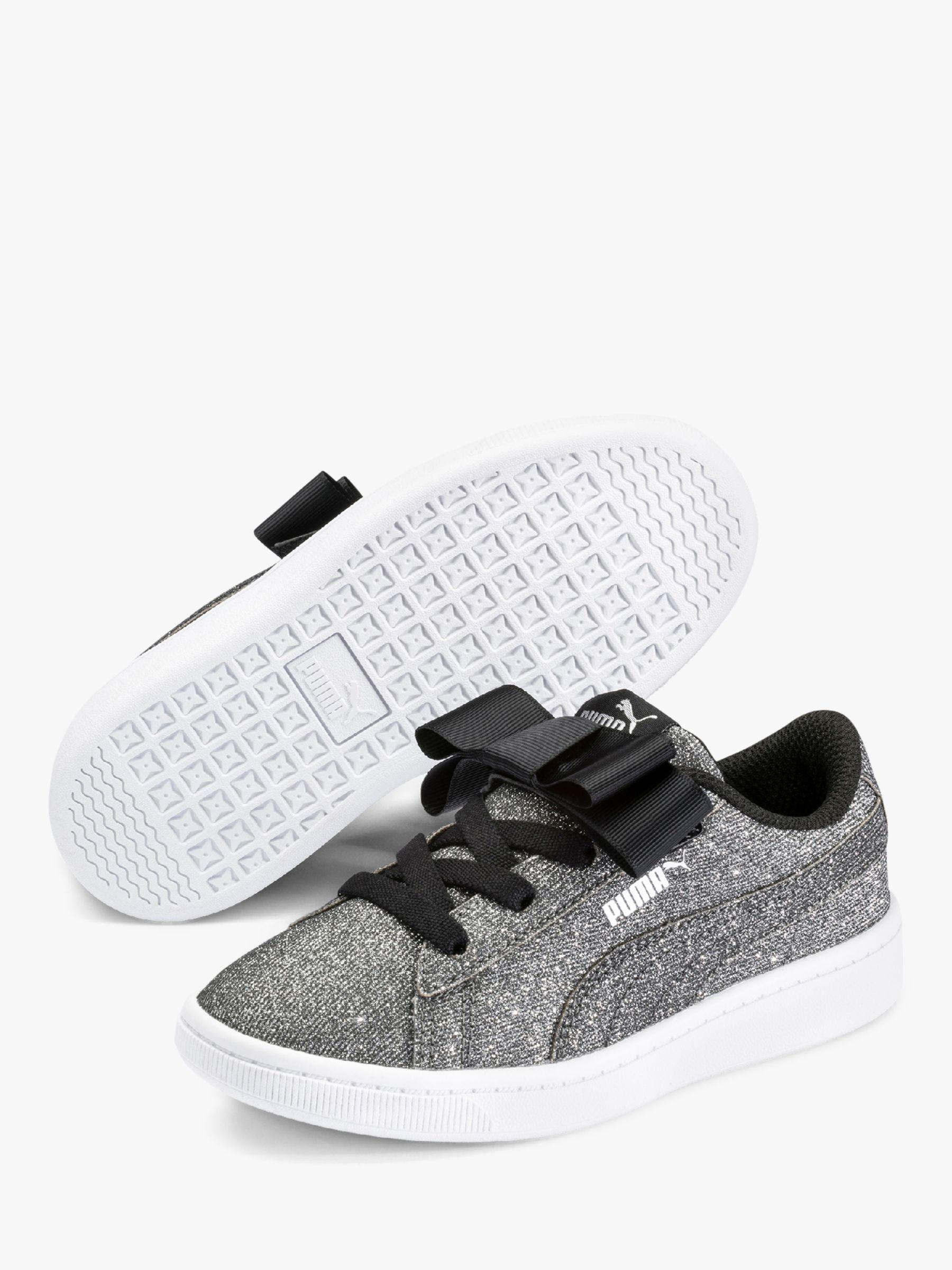 Trainers, PUMA Black/PUMA Silver/White
