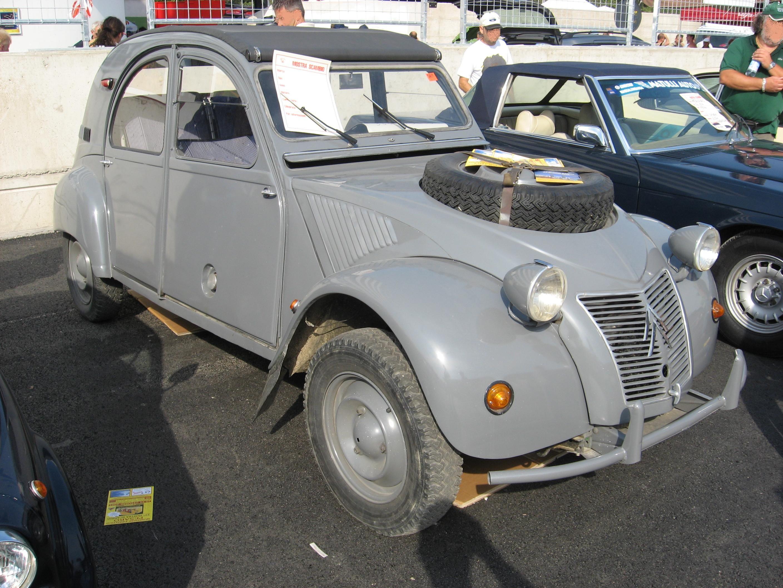 citroen 2cv 4x4 sahara for sale