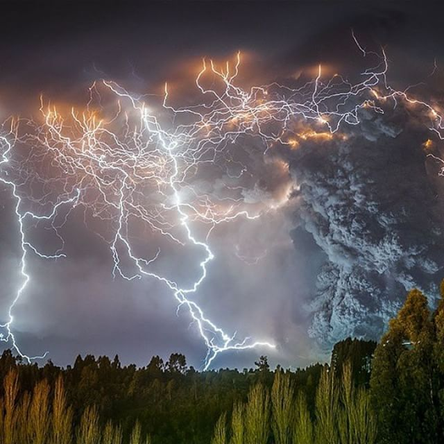 Cordón Caulle Volcano Chile Photography By - 17 incredible photos of volcanic lightning