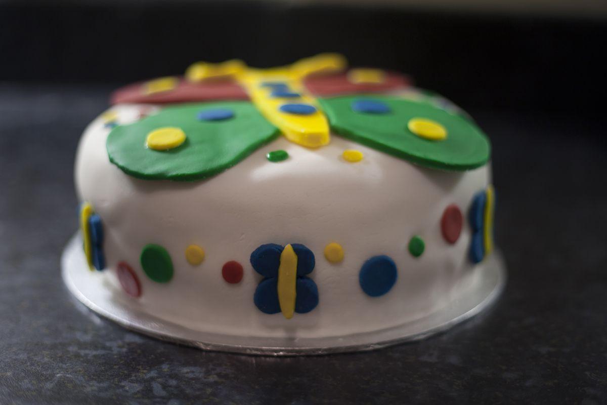 Butterfly Cake | Scrummy Inklings