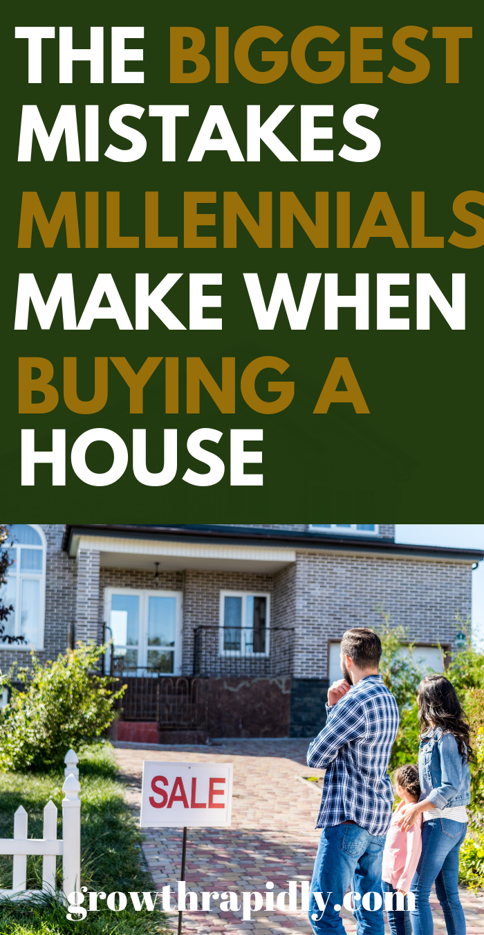 If you're buying your first home, avoid these first time home buyer mistakes. New homeowner, first time home buyer tips, buying a house first time, what to look for when buying a home. #millennials #buyingahouse #homeowner #loan #mortgage #home